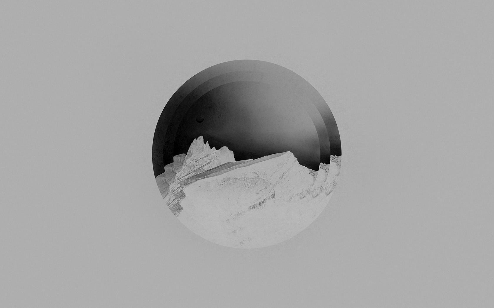 Wallpaper for desktop laptop am23 tycho art cover music for Minimal art black and white