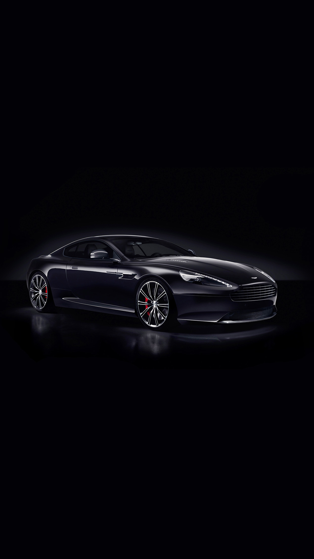 Iphone6papers Am30 Aston Martin Db9 Dark Sports Car