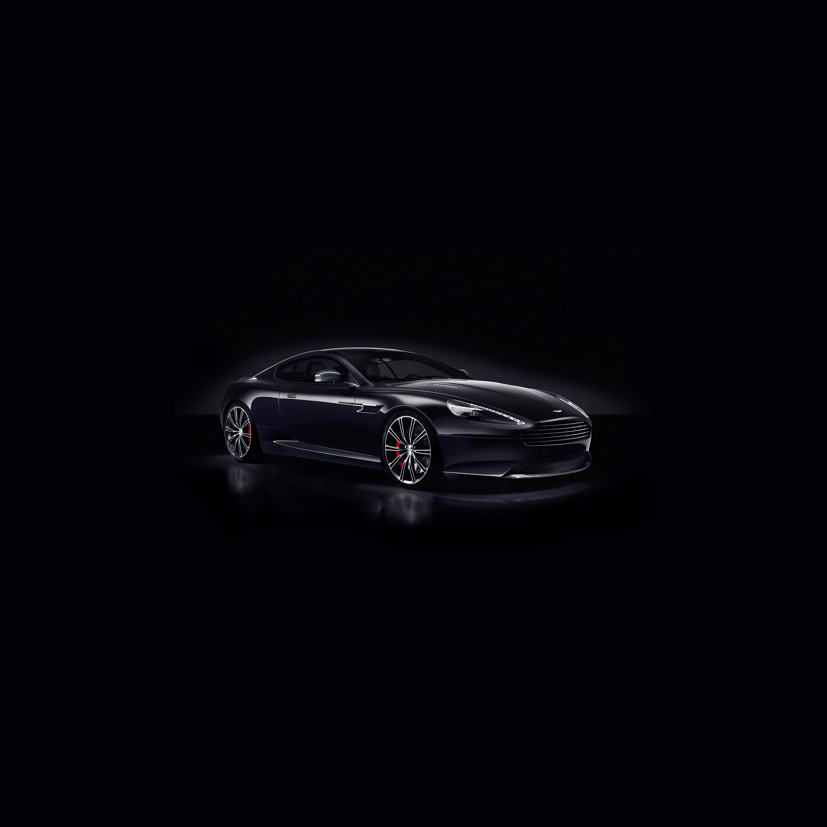 Papers Co Ipad Wallpaper Am30 Aston Martin Db9 Dark Sports Car