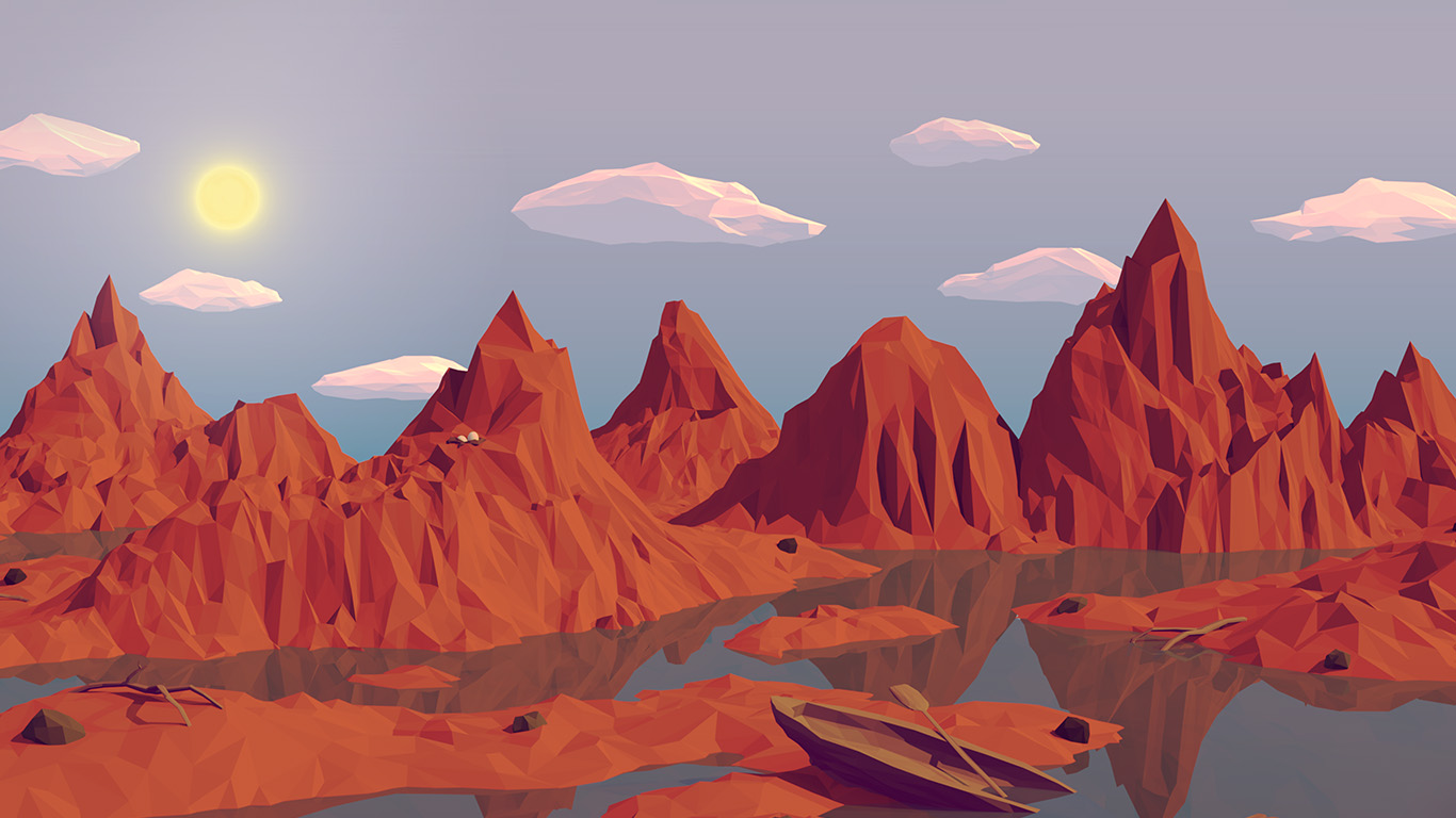 desktop-wallpaper-laptop-mac-macbook-airam37-low-poly-art-mountain-red-illust-art-wallpaper