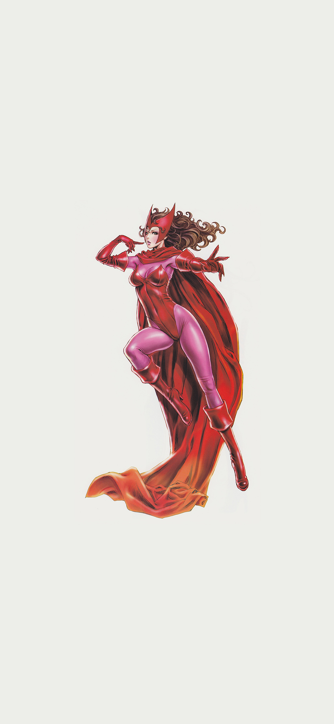 iPhoneXpapers.com-Apple-iPhone-wallpaper-am41-scarlet-witch-avengers-comics-illust-art-film