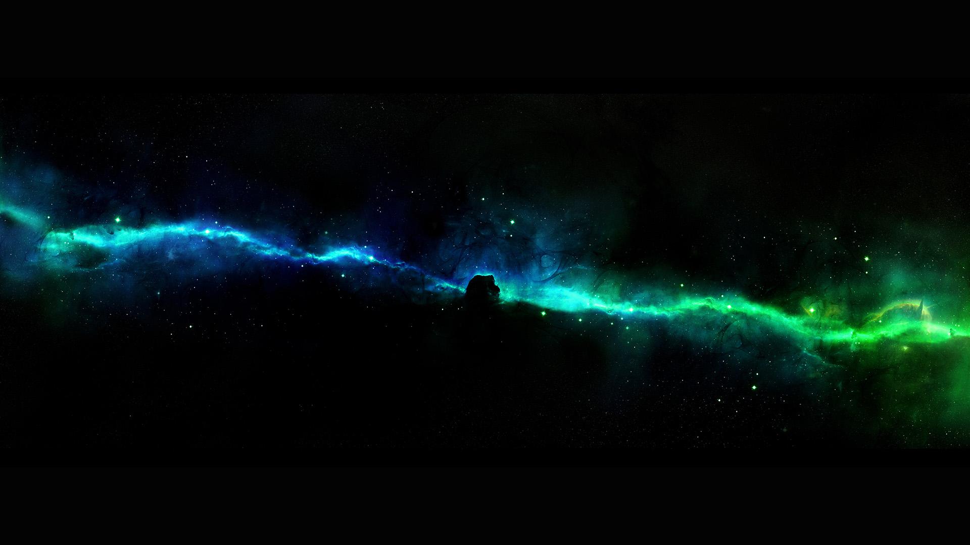 Ipad Retina Wallpapers Space: Am46-star-road-river-space-dark-aurora