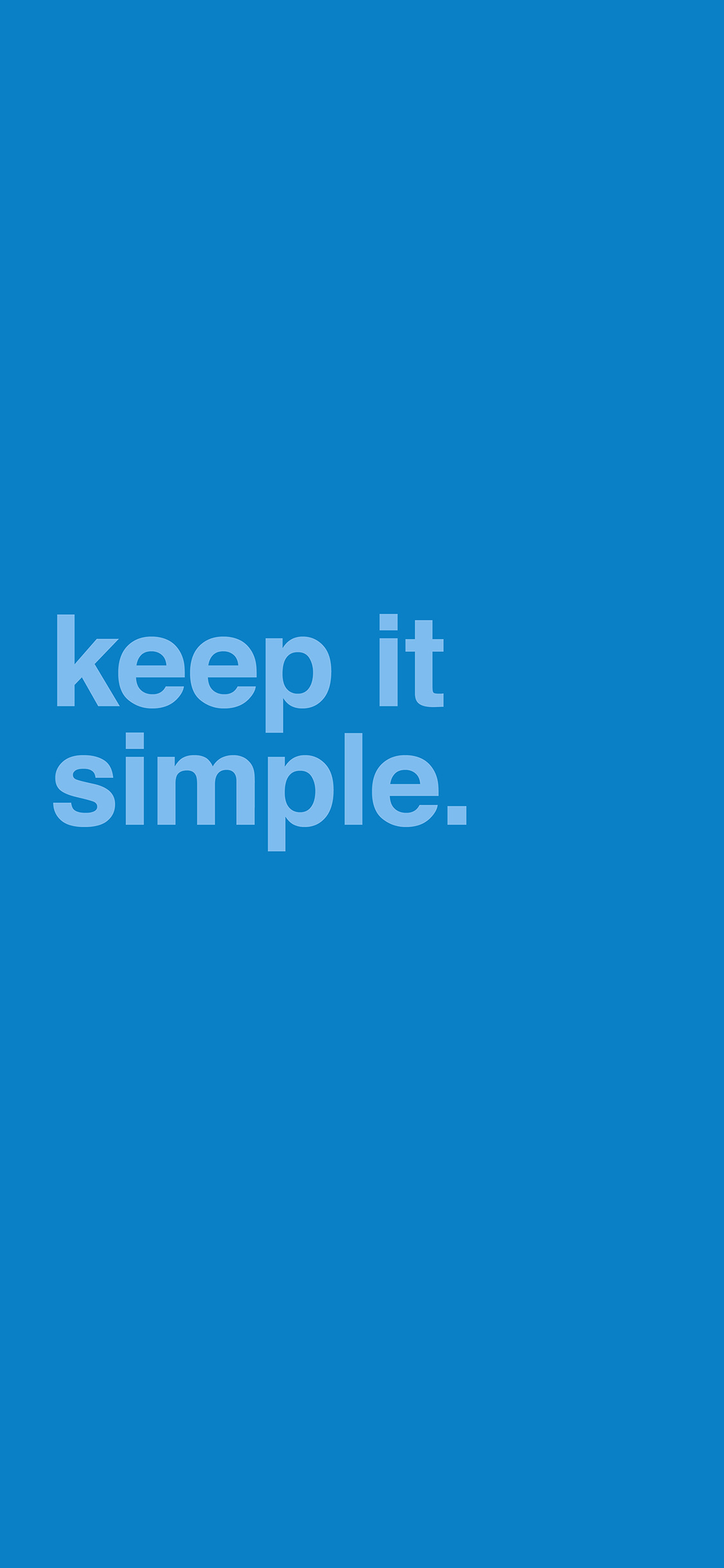 iPhoneXpapers.com-Apple-iPhone-wallpaper-am48-minimal-keep-it-simple-stupid-blue-quote