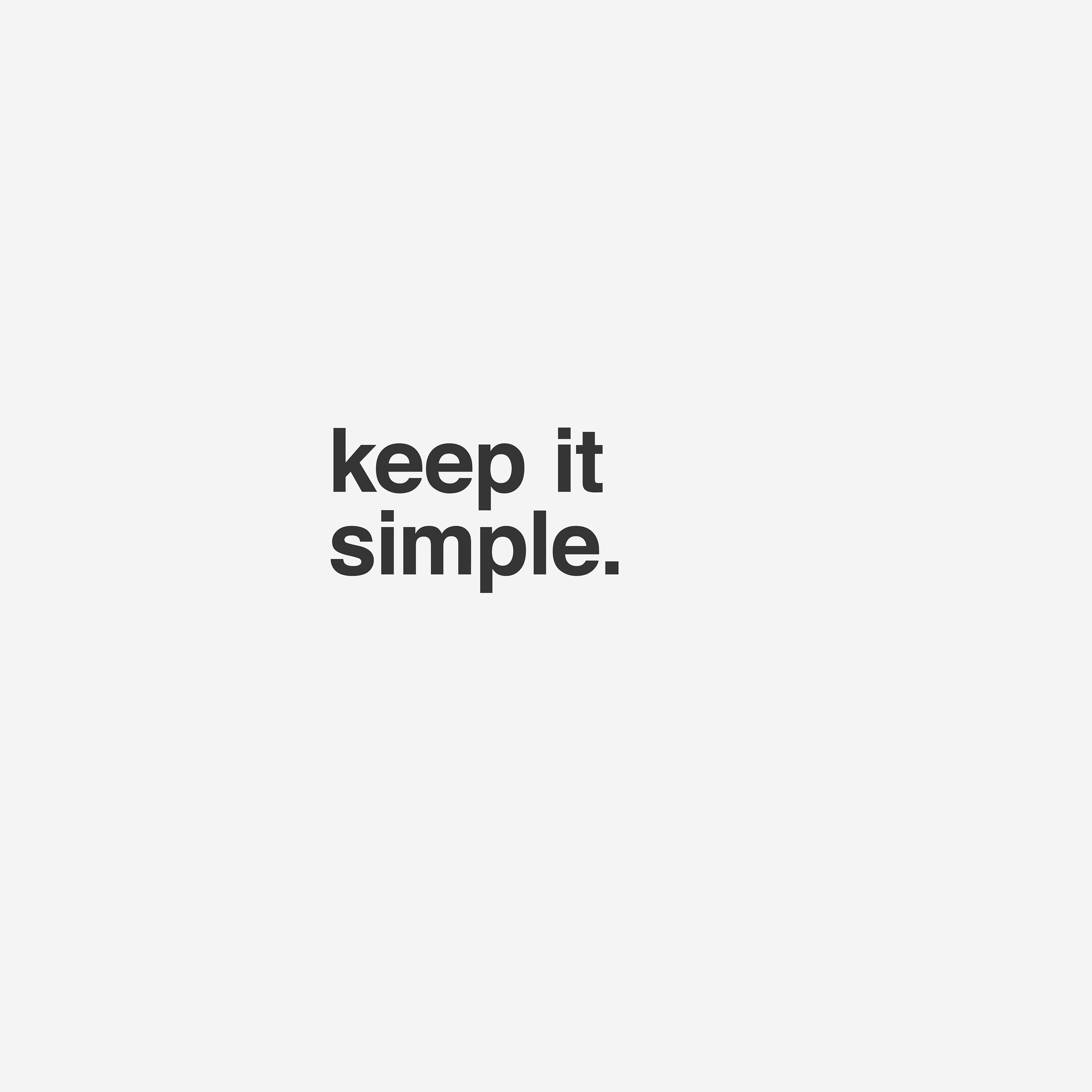 keep it simple essay Teaching children paragraph writing is hard by pattern based writing: let's keep it simple it takes children from simple sentences to complete essays fast and with real understanding.