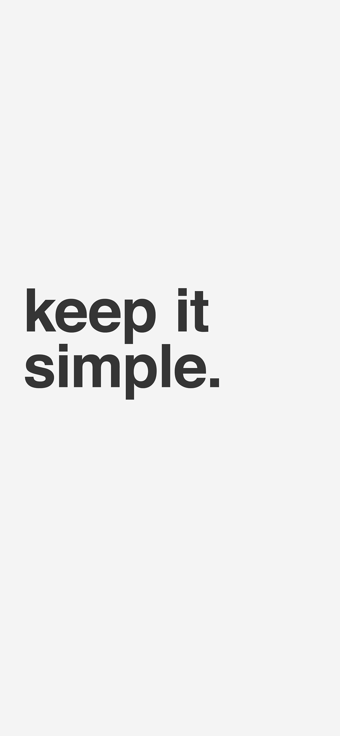 iPhoneXpapers.com-Apple-iPhone-wallpaper-am51-minimal-keep-it-simple-stupid-white-quote
