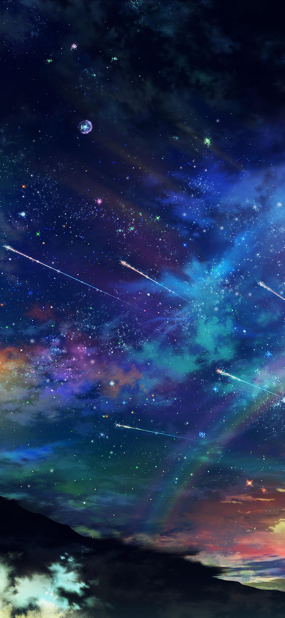 Am61 Amazing Wonderful Tonight Sky Dark Star Space Wallpaper