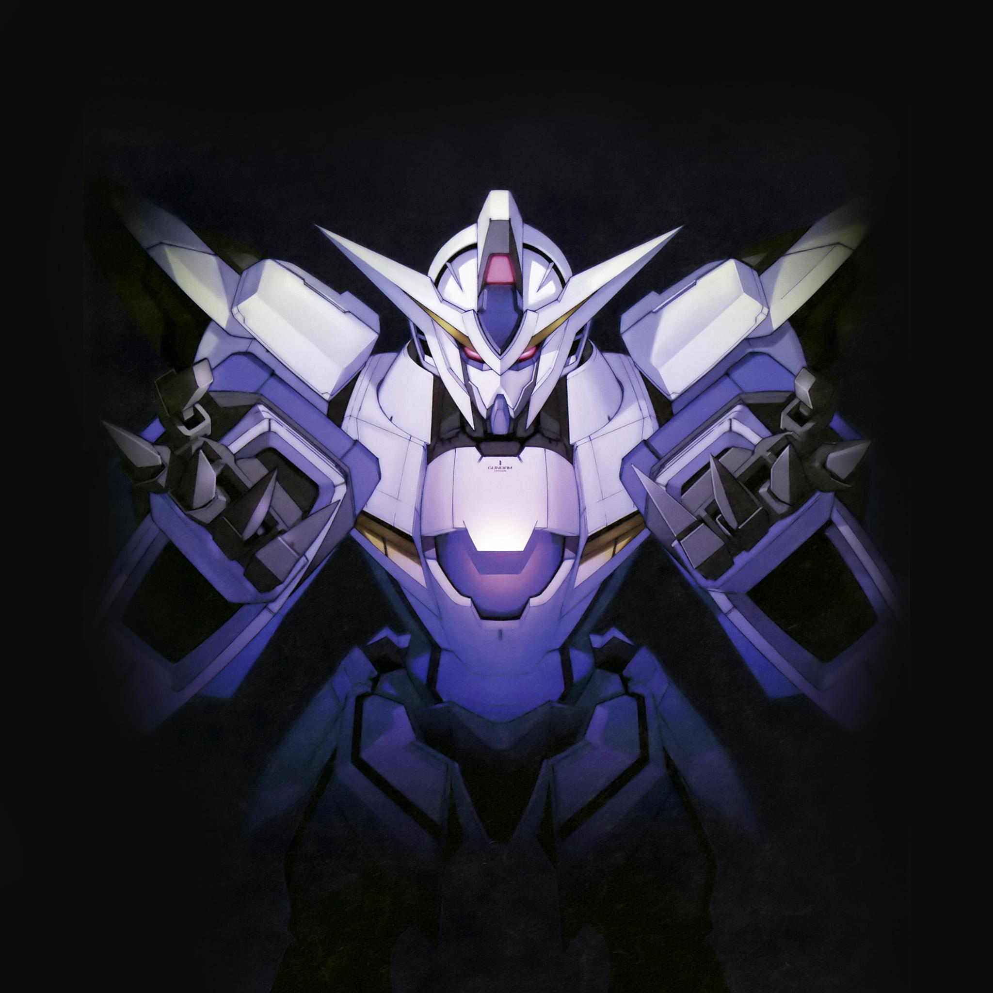 Gundam Iphone Wallpaper: Am63-gundam-art-dark-toy-game-illust-art