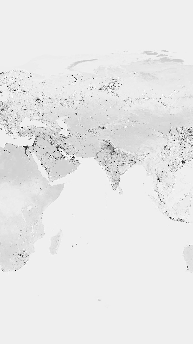 Papers.co-iPhone5-iphone6-plus-wallpaper-am69-worldmap-bw-dark-earth-view-art-clear