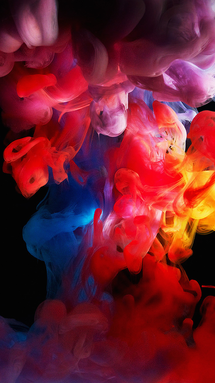 Papers.co-iPhone5-iphone6-plus-wallpaper-am70-smoke-color-dark-abstract-fog-art-illust