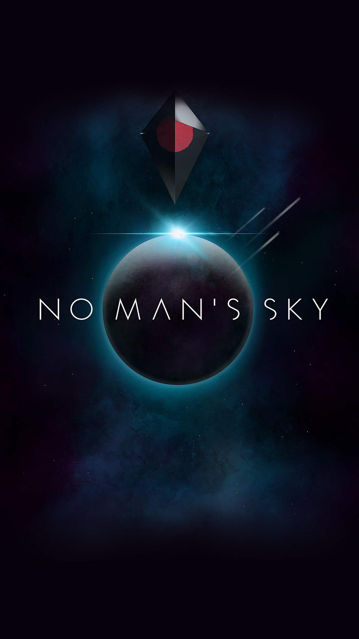 Iphone6papers Am76 No Mans Sky Art Space Dark Illust Game