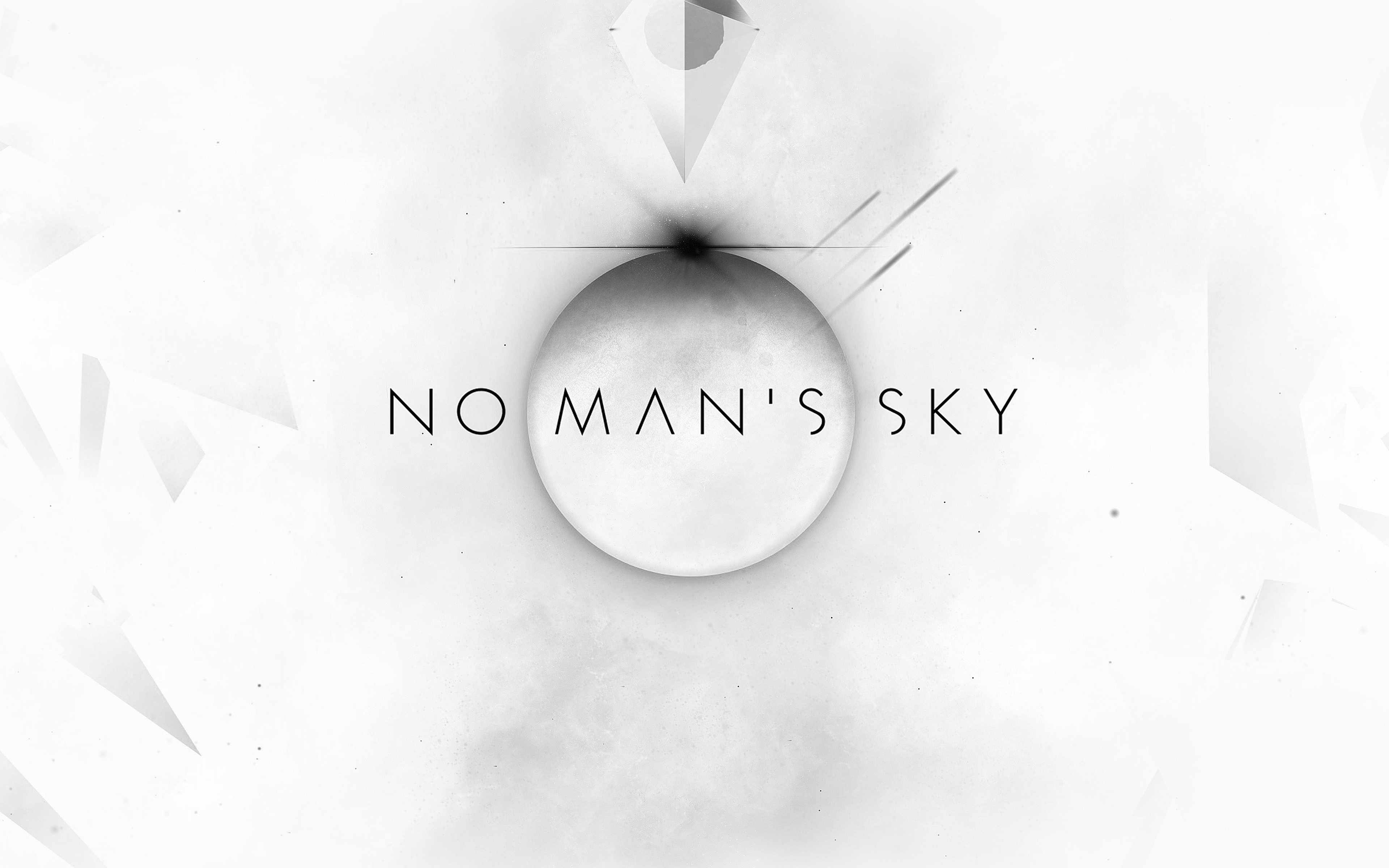 Am77 No Mans Sky Art Space White Illust Game Wallpaper
