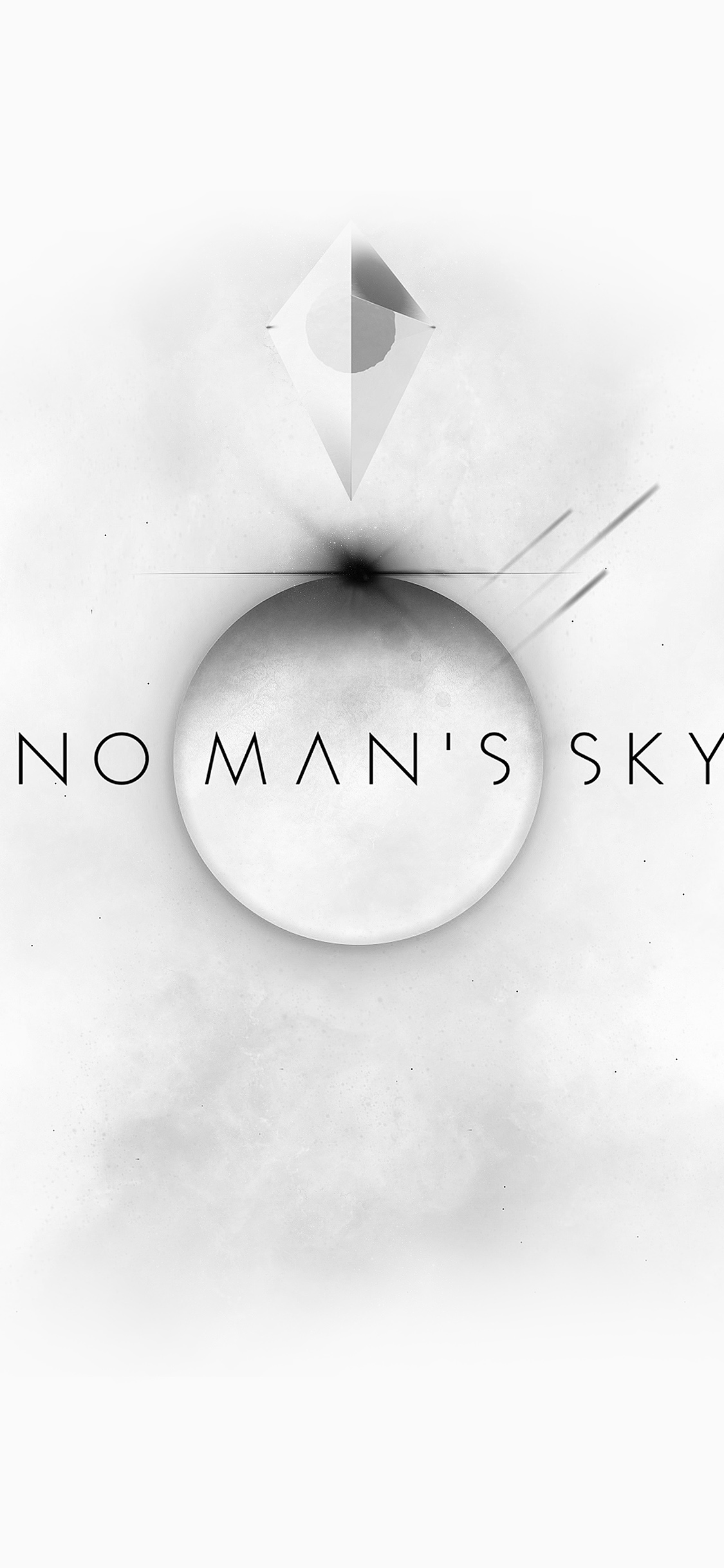 Am77 No Mans Sky Art Space White Illust Game Wallpaper