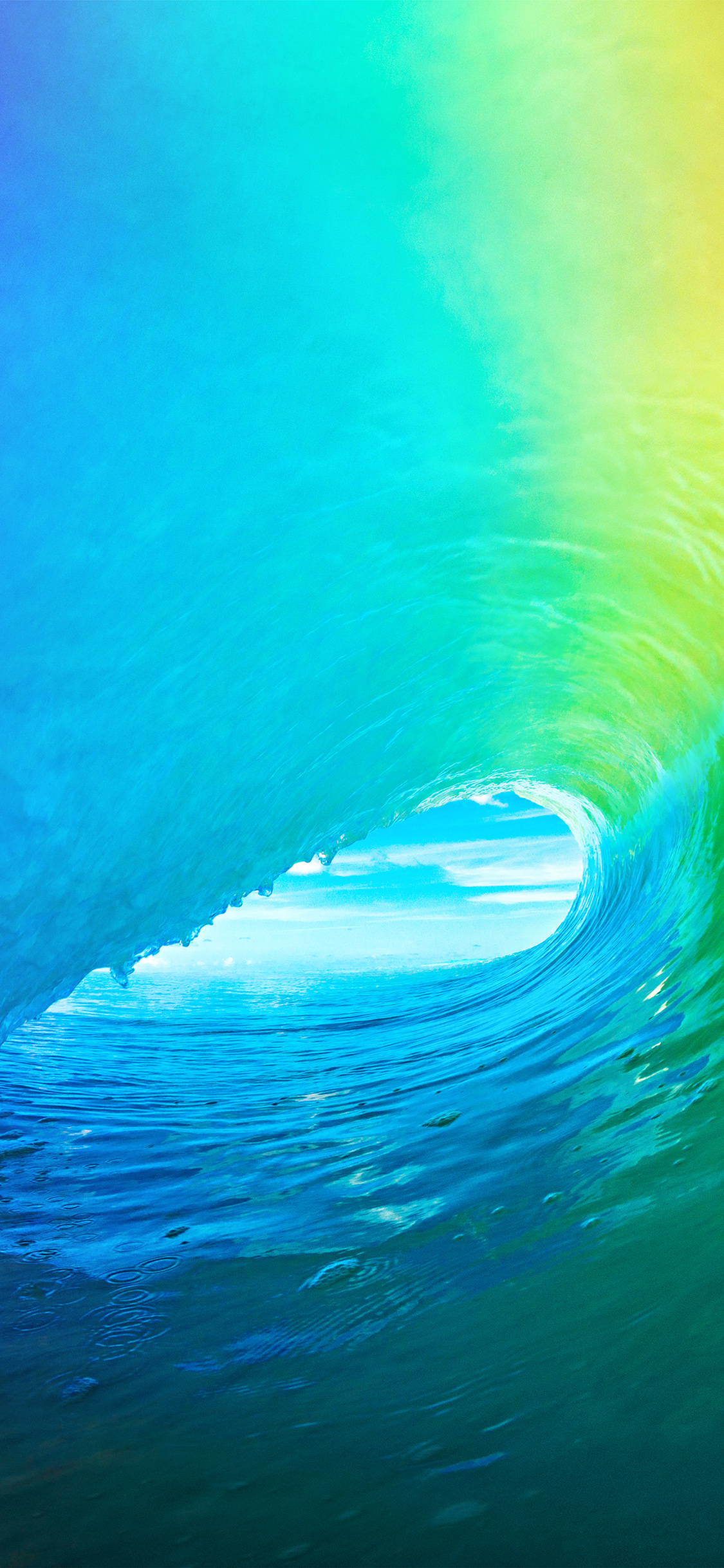 iPhoneXpapers.com-Apple-iPhone-wallpaper-am81-ios9-apple-wave-rainbow-sea-ocean