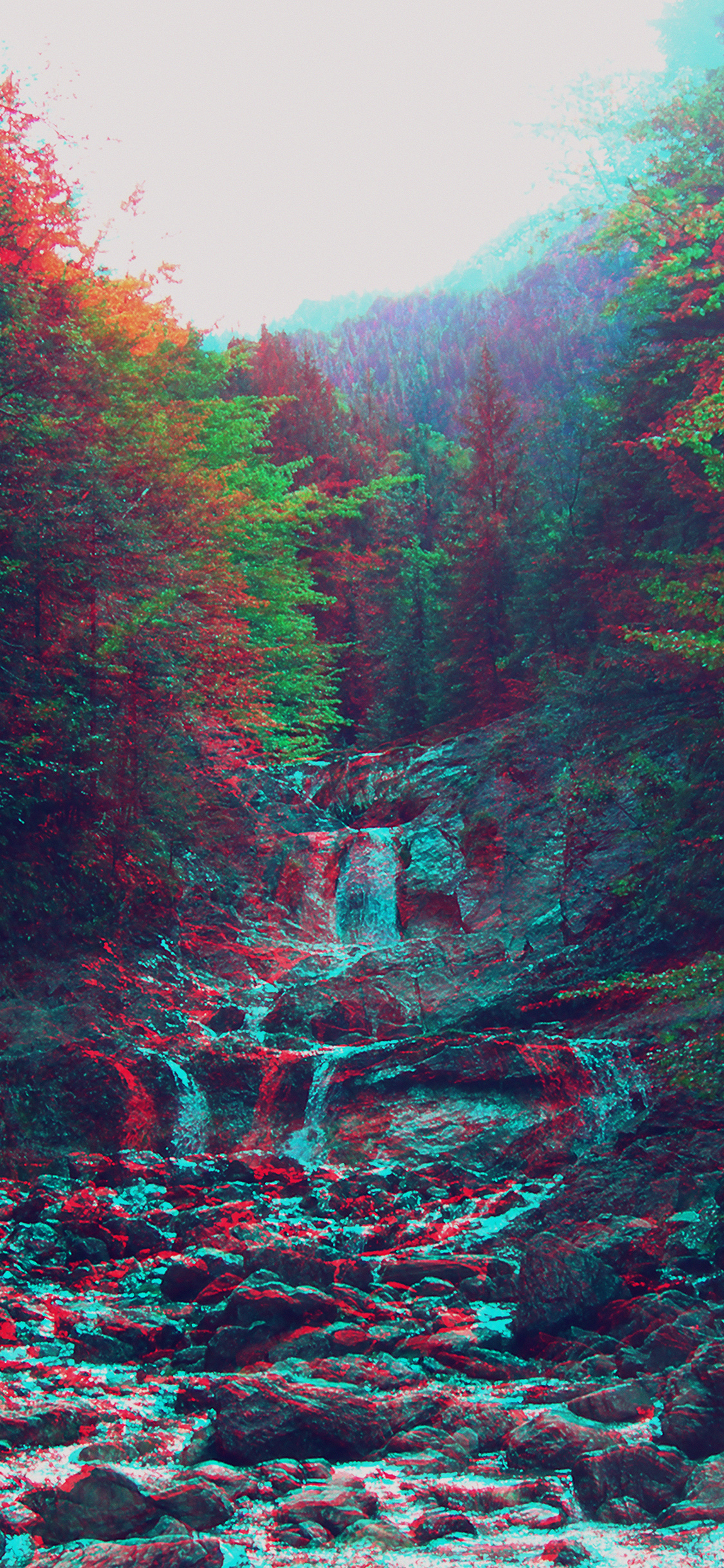 iPhoneXpapers.com-Apple-iPhone-wallpaper-am90-anaglyph-mountain-green-nature-art