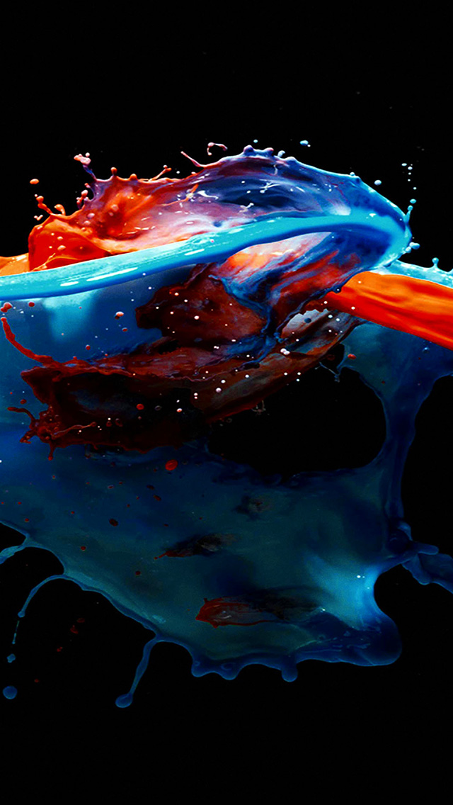 freeios8.com-iphone-4-5-6-plus-ipad-ios8-am91-paint-splash-art-illust-dark-blue-red