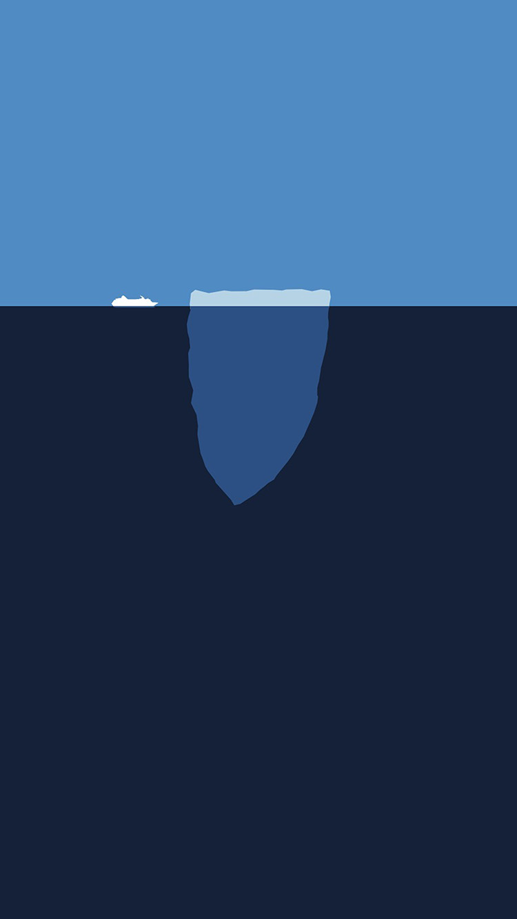 iPhonepapers.com-Apple-iPhone8-wallpaper-am93-minimal-sea-iceberg-blue-art-illust