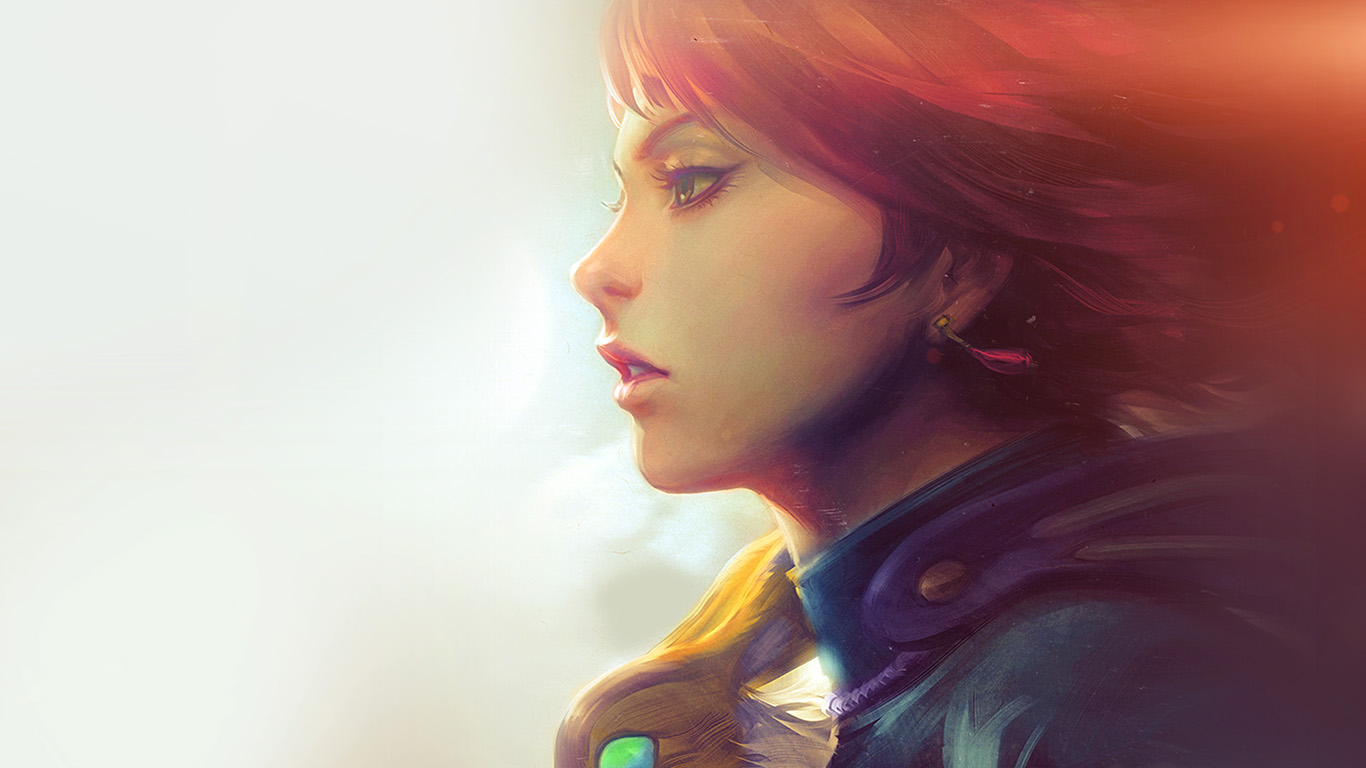 desktop-wallpaper-laptop-mac-macbook-air-am99-girl-illust-anime-art-paint-fly-red-hair-flare-wallpaper