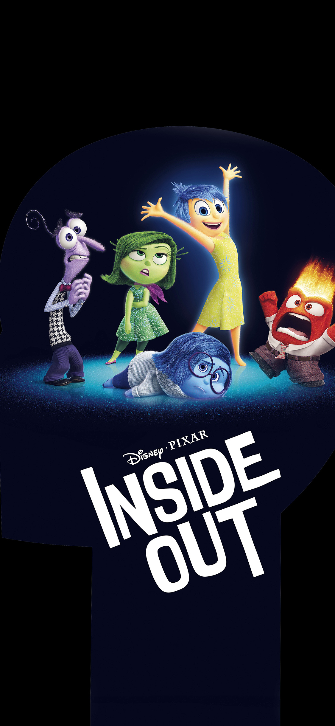 Papers Co Iphone Wallpaper An00 Inside Out Disney Pixar