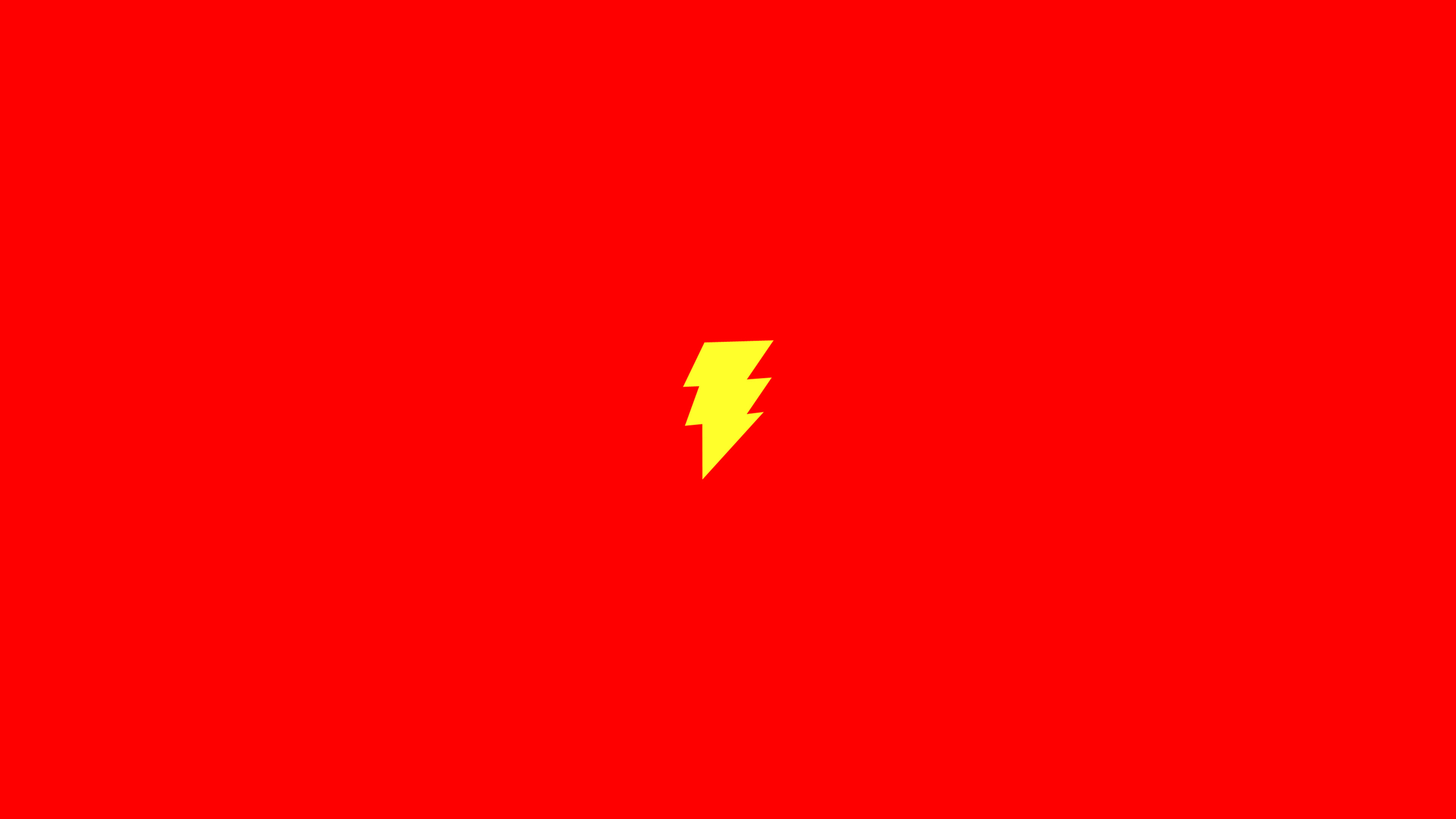 An12 flash comic hero minimal red art logo for Minimal art hero