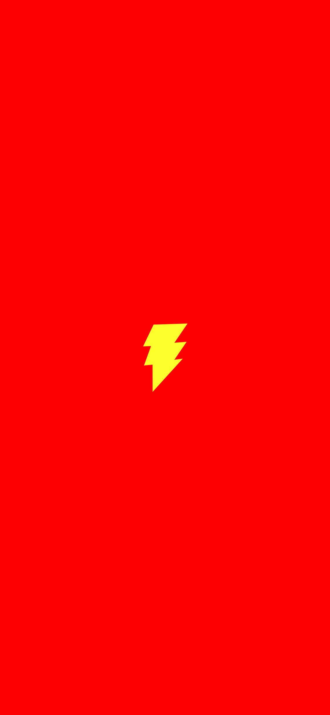iPhoneXpapers.com-Apple-iPhone-wallpaper-an12-flash-comic-hero-minimal-red-art-logo