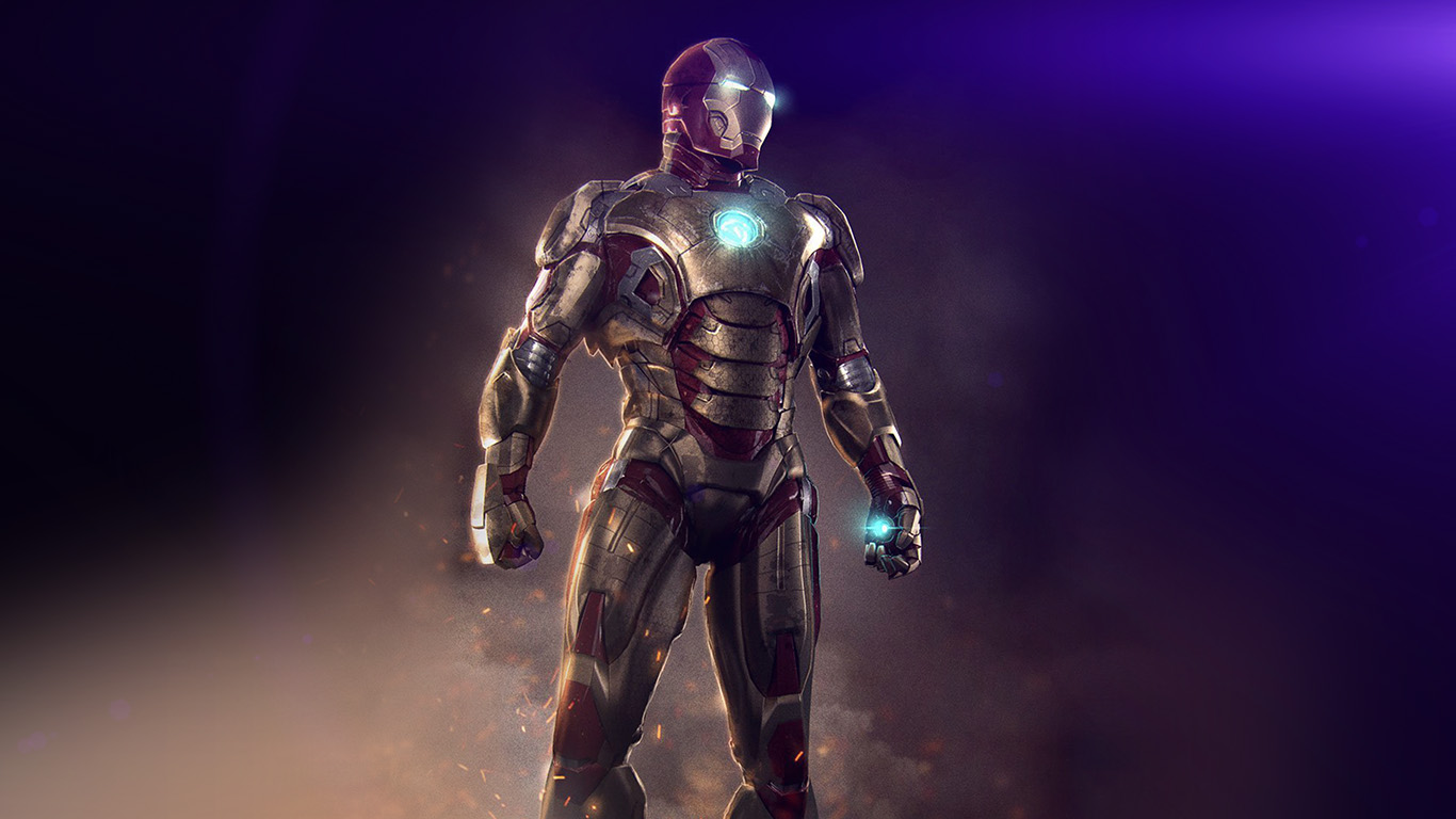 desktop-wallpaper-laptop-mac-macbook-air-an14-ironman-hero-marvel-art-illust-flare-wallpaper
