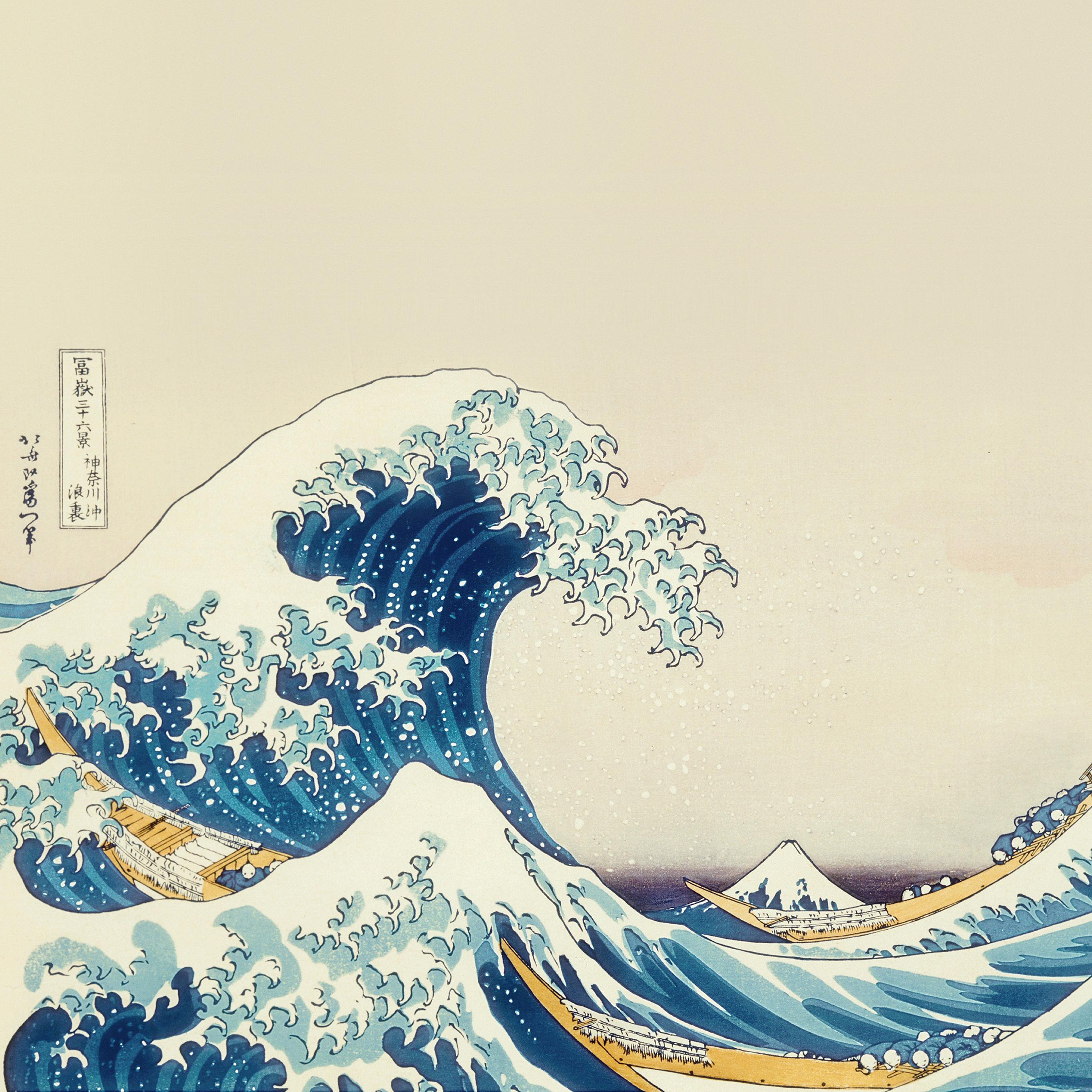 An25 wave art hokusai japanese paint illust classic papers ipad pro ipad retina gumiabroncs Image collections