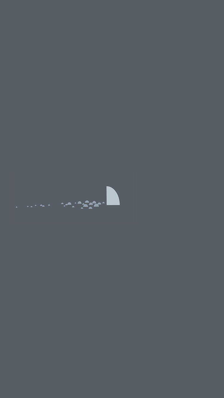 iPhonepapers.com-Apple-iPhone8-wallpaper-an32-minimal-simple-shark-sea-illust-art
