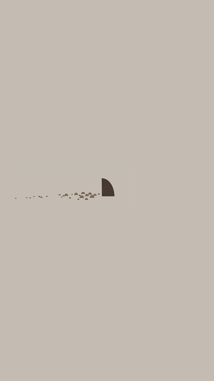 Papers.co-iPhone5-iphone6-plus-wallpaper-an33-minimal-simple-shark-sea-illust-art-cute