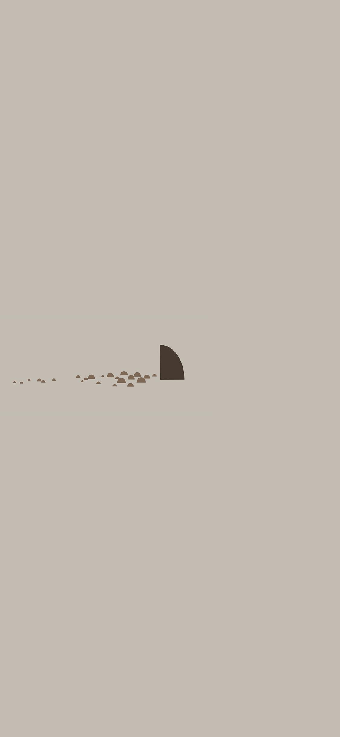 iPhoneXpapers.com-Apple-iPhone-wallpaper-an33-minimal-simple-shark-sea-illust-art-cute
