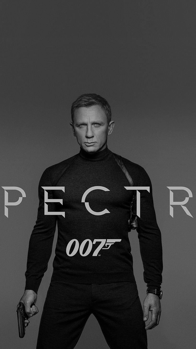 iPhonepapers.com-Apple-iPhone8-wallpaper-an46-james-bond-007-spectre-movie-film-poster-dark-bw