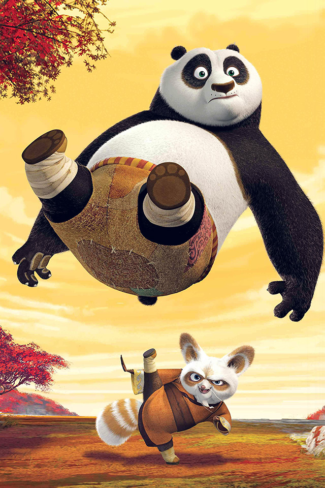 freeios7.com-iphone-4-iphone-5-ios7-wallpaperan70-kungfu-panda-dreamworks-art-kick-cute-anime-iphone4