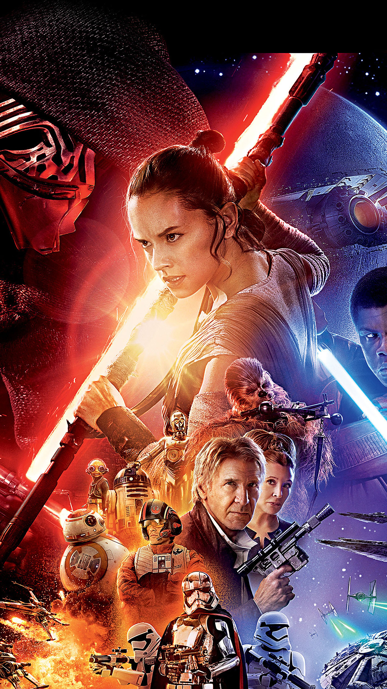 An78 Starwars The Force Awakens Film Poster Art Papers Co