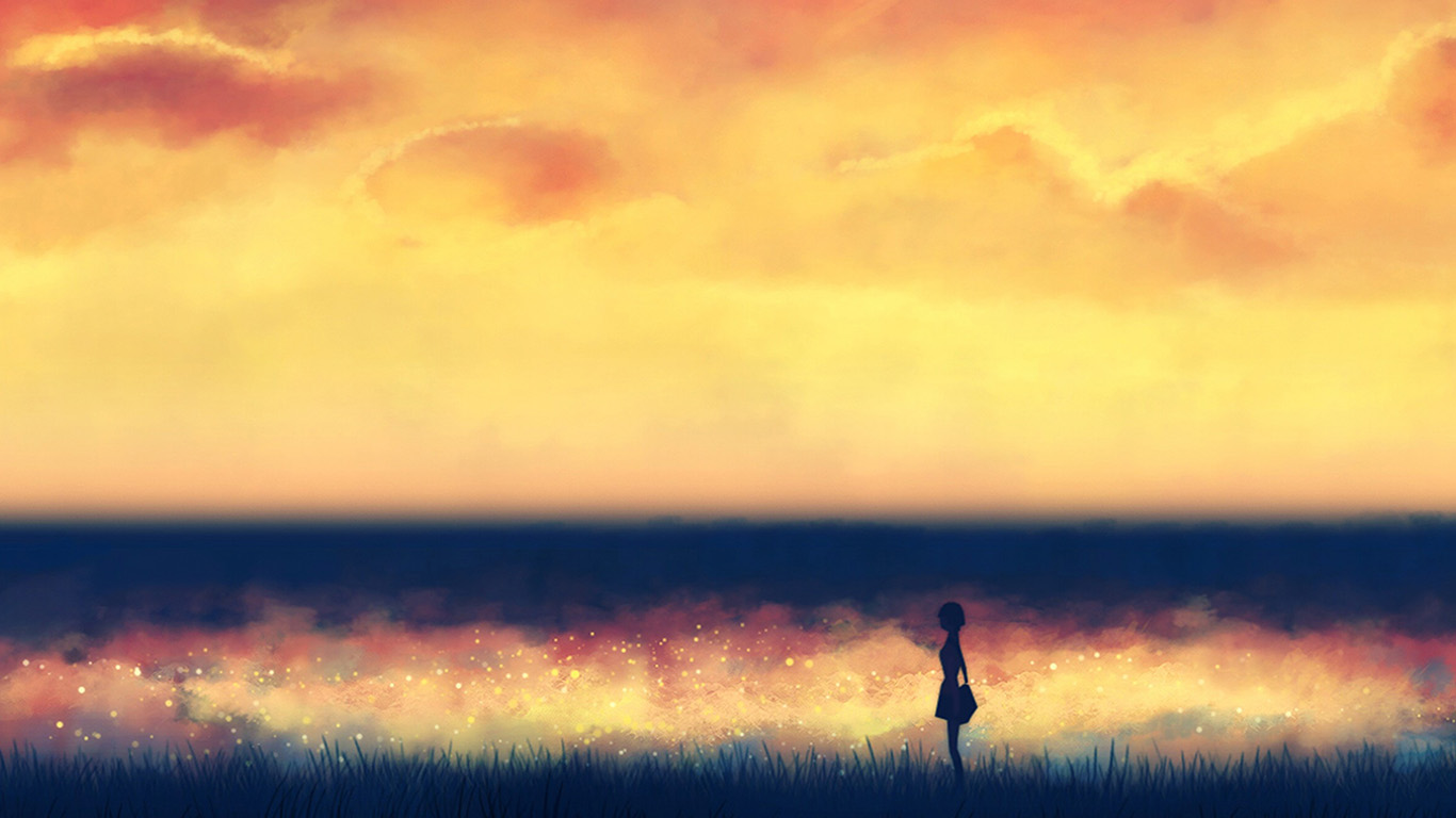 desktop-wallpaper-laptop-mac-macbook-airan83-fantasy-lonely-ilust-art-sunset-paint-wallpaper