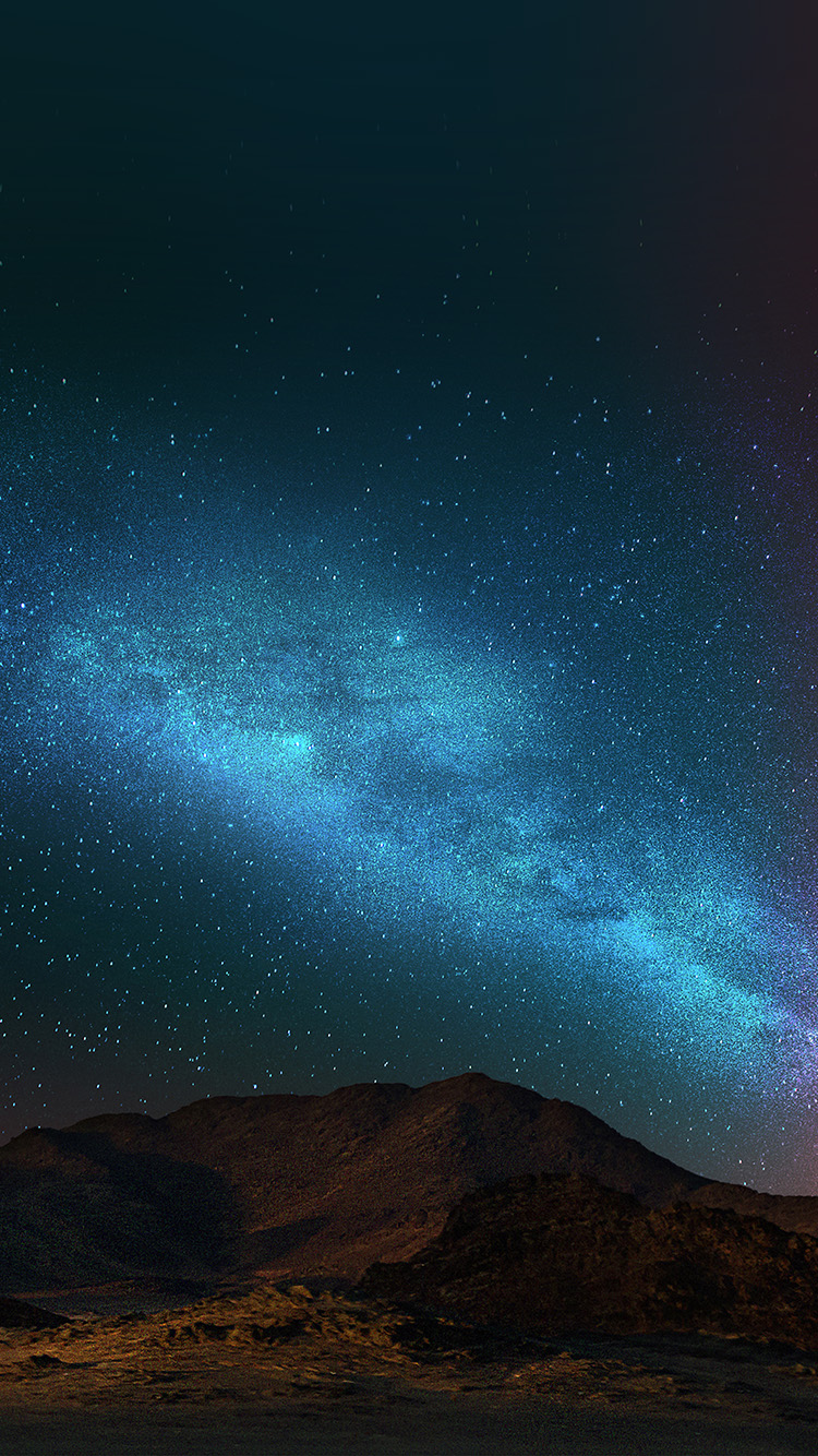 iPhone7papers.com-Apple-iPhone7-iphone7plus-wallpaper-an88-night-sky-dark-color-star-shining-nature