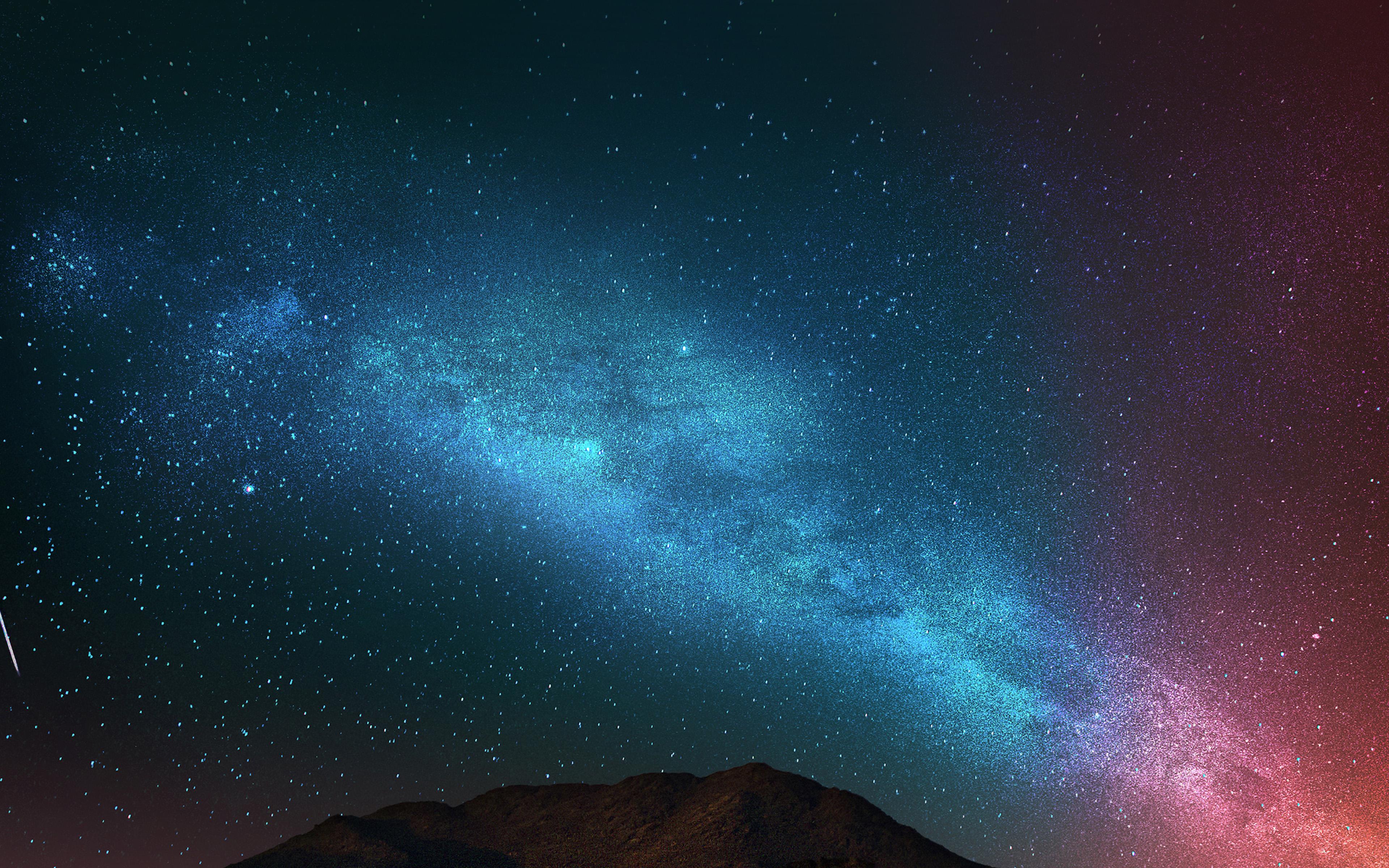 an88 night sky dark color star shining nature wallpaper