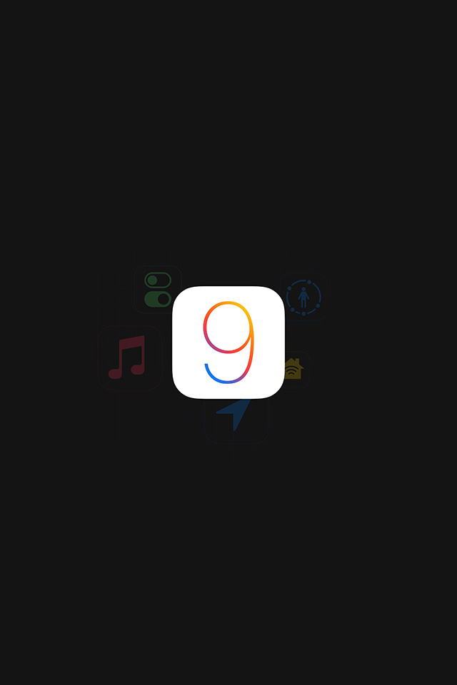 freeios7.com-iphone-4-iphone-5-ios7-wallpaperan92-apple-ios9-logo-dark-simple-art-iphone4