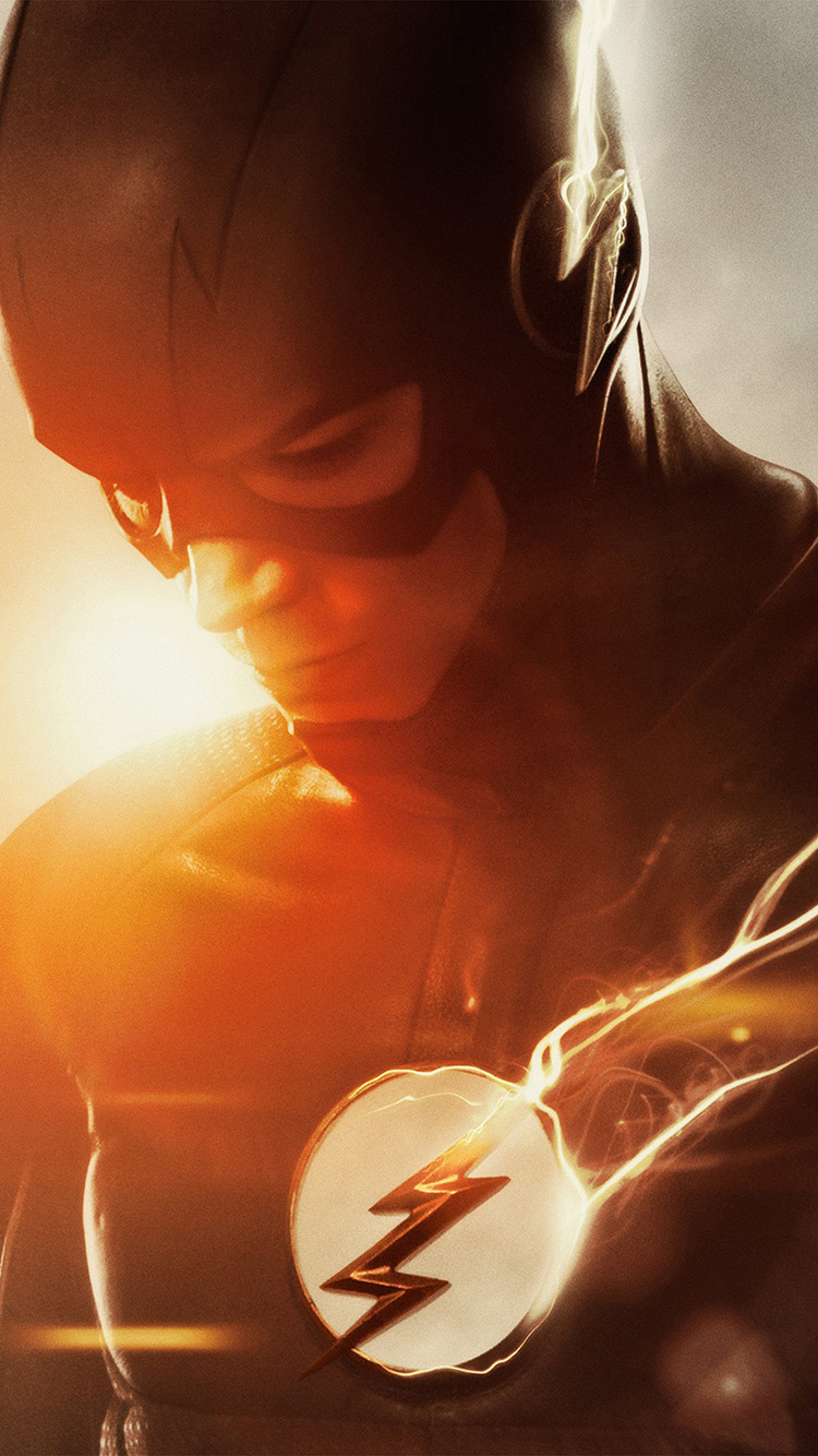 Papers.co-iPhone5-iphone6-plus-wallpaper-ao01-the-flash-tv-series-hero-film-art