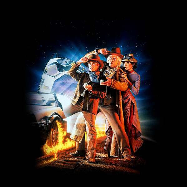 freeios7 ao02 back to the future 3 poster film art