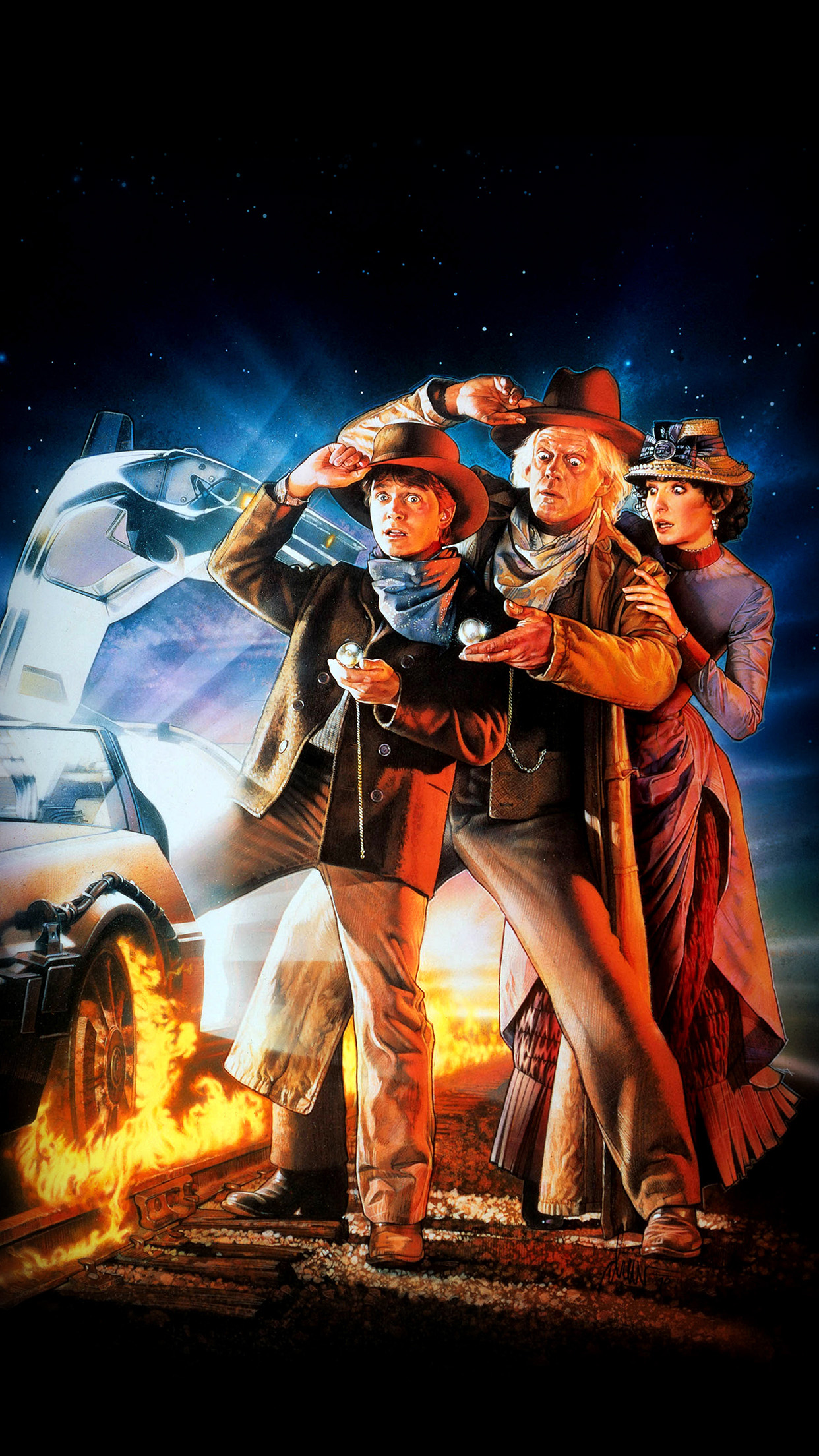 Ao02 Back To The Future 3 Poster Film Art Papers Co