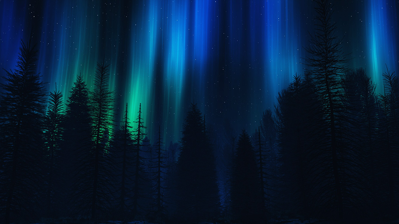 wallpaper for desktop, laptop | ao04-aurora-night-sky-dark ...