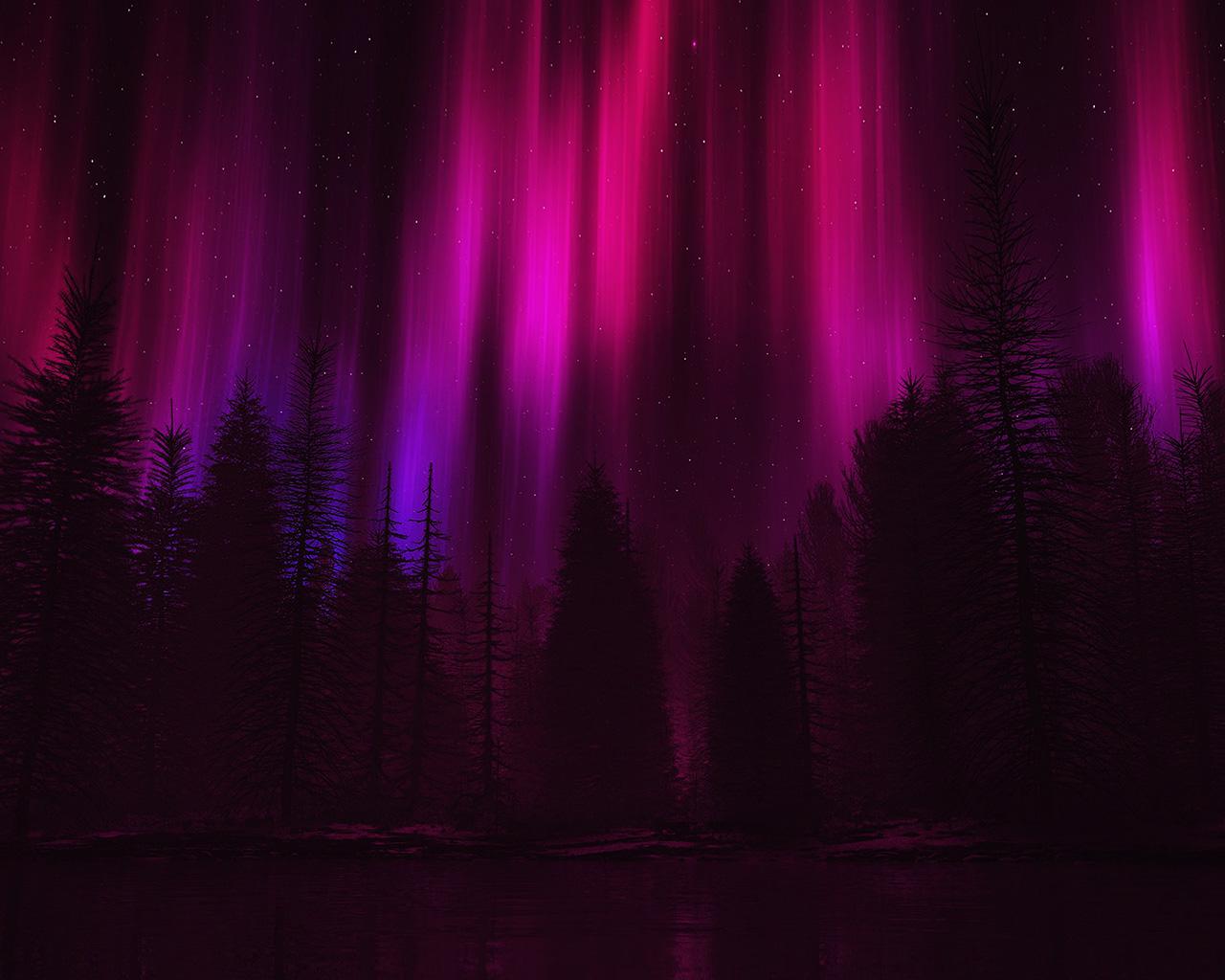 aurora very dark red - photo #7