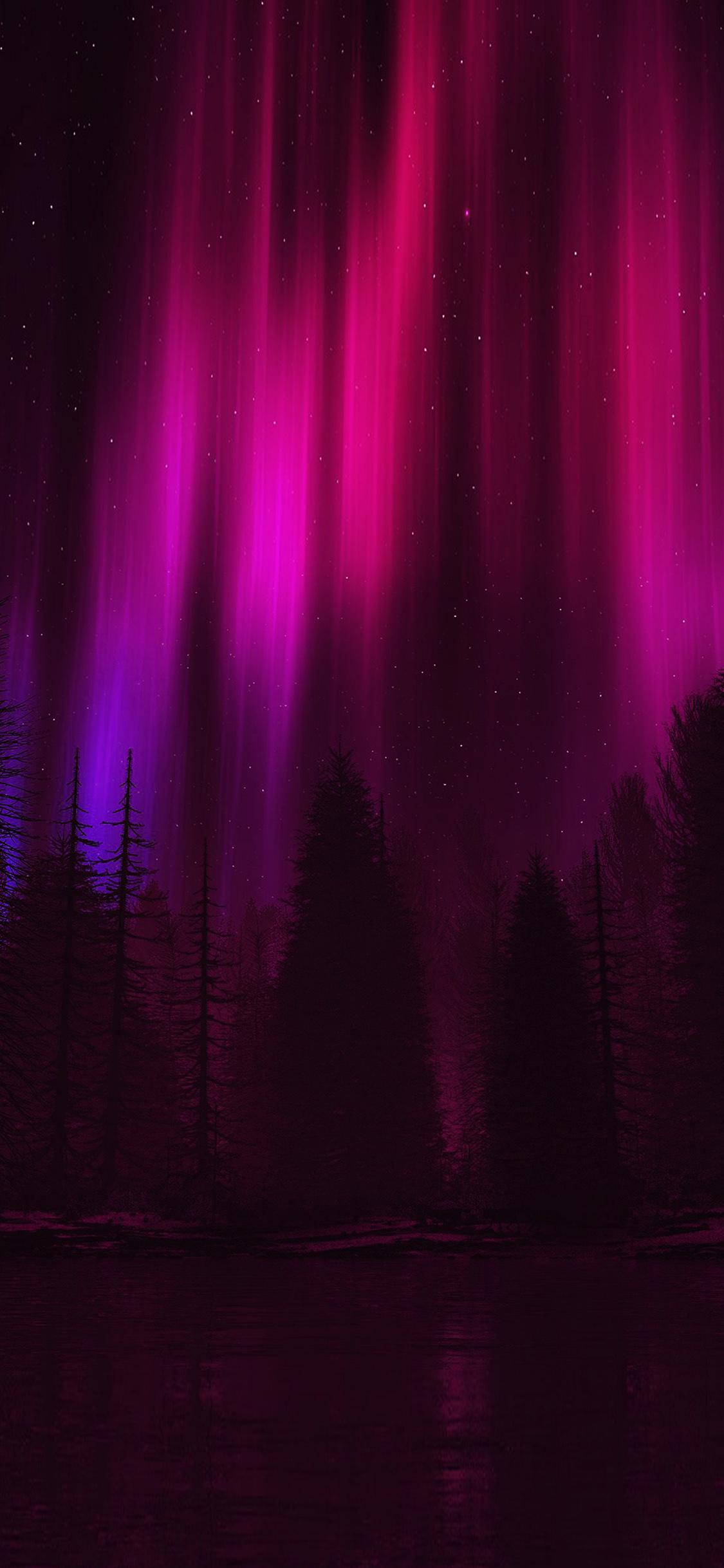 aurora very dark red - photo #3