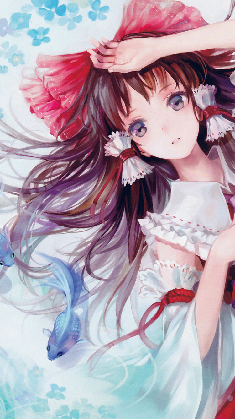Papers.co-iPhone5-iphone6-plus-wallpaper-ao18-anime-art-paint-girl-cute