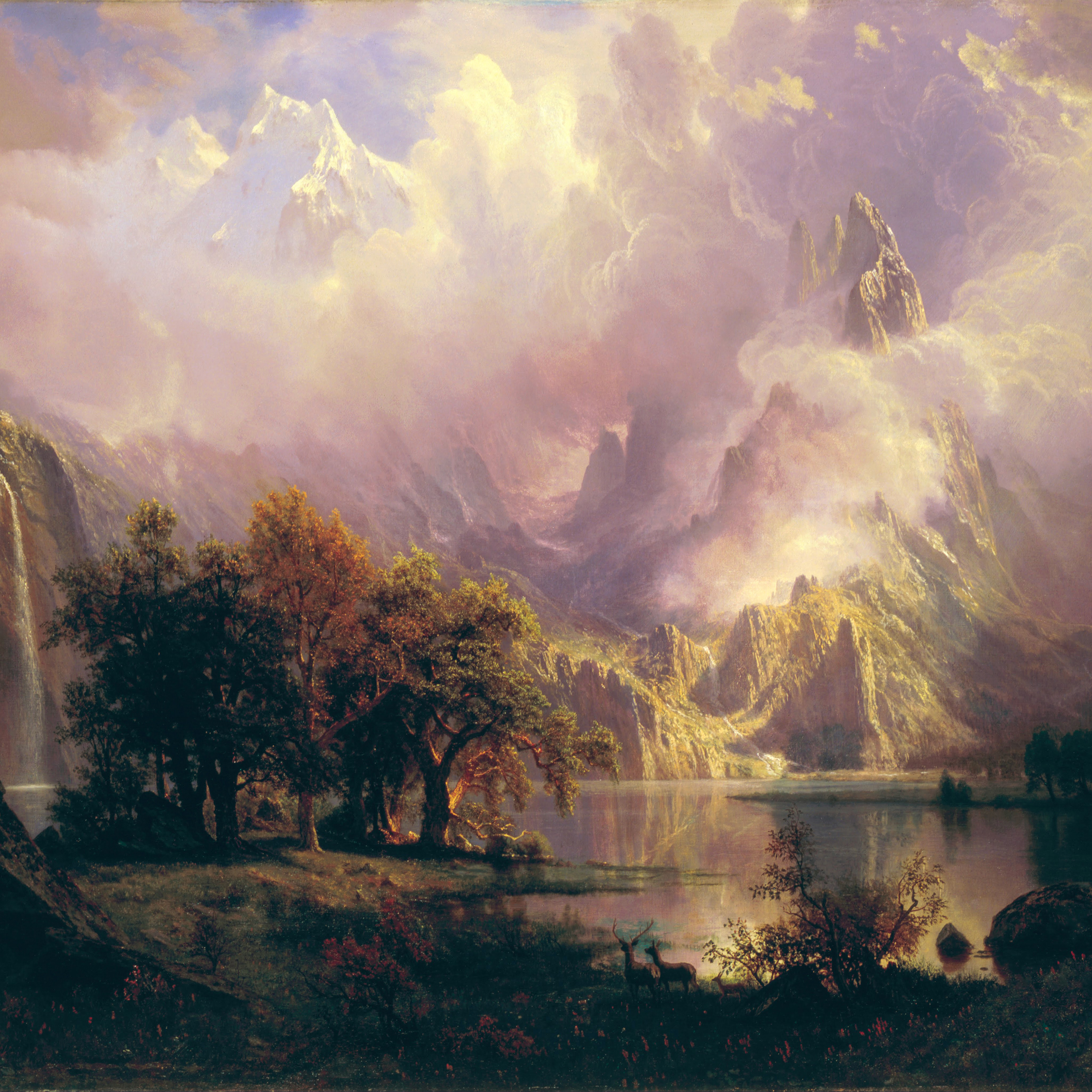 papers.co | android wallpaper | ao20-albert-bierstadt-classic