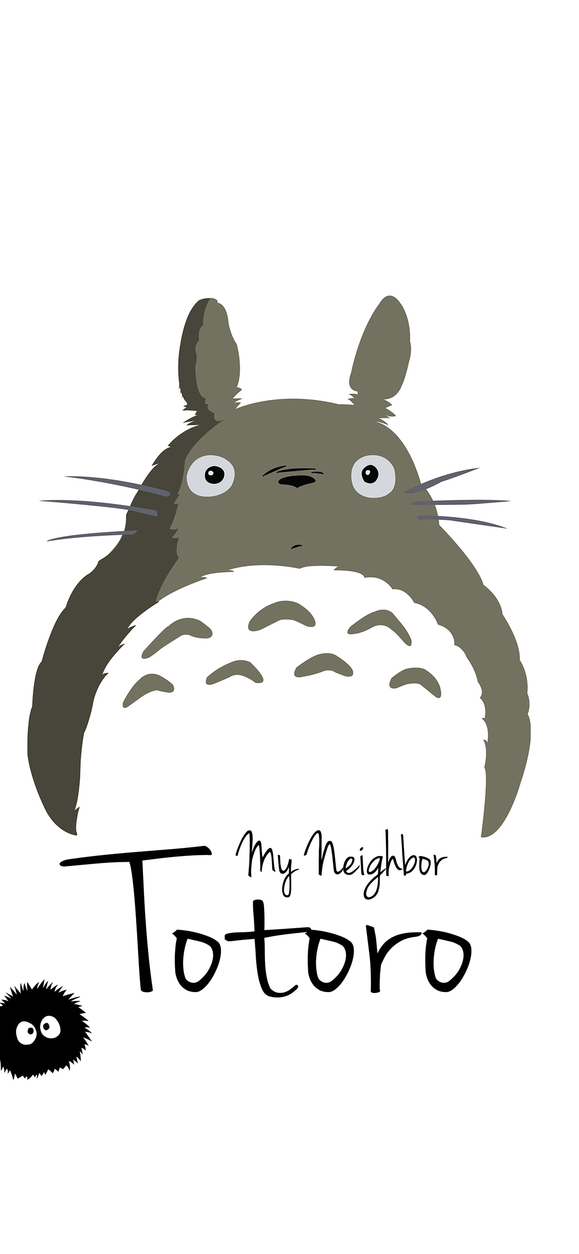 iPhoneXpapers.com-Apple-iPhone-wallpaper-ao23-my-neighbor-totoro-art-minimal