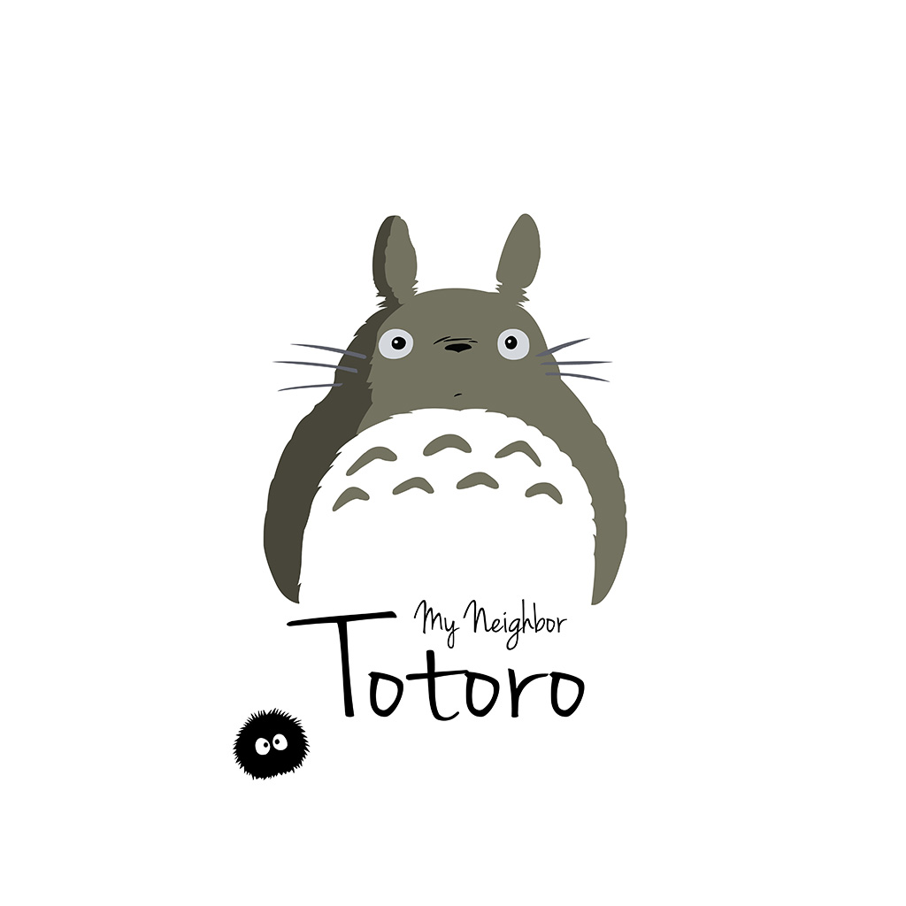 android-wallpaper-ao23-my-neighbor-totoro-art-minimal-wallpaper