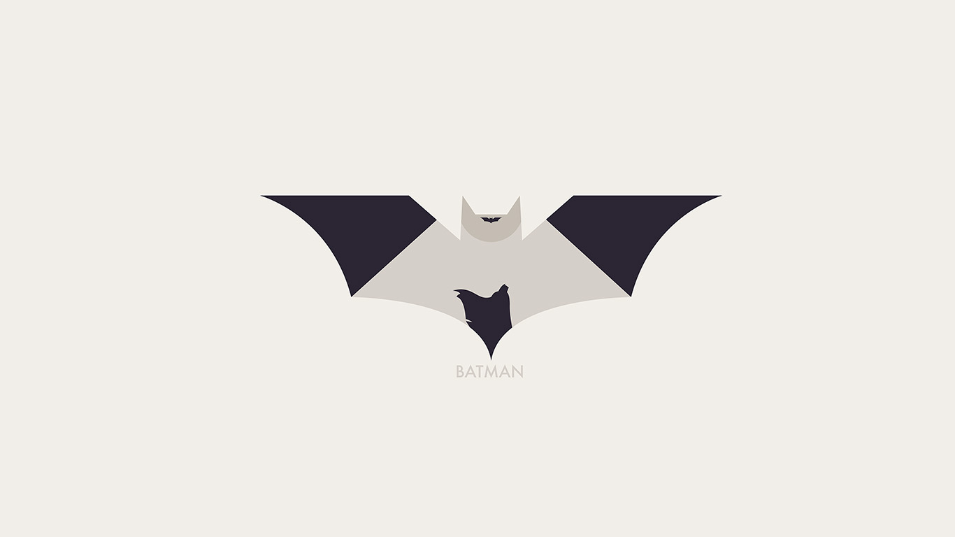wallpaper-desktop-laptop-mac-macbook-ao27-hugoli-art-batman-minimal-logo-illust-wallpaper