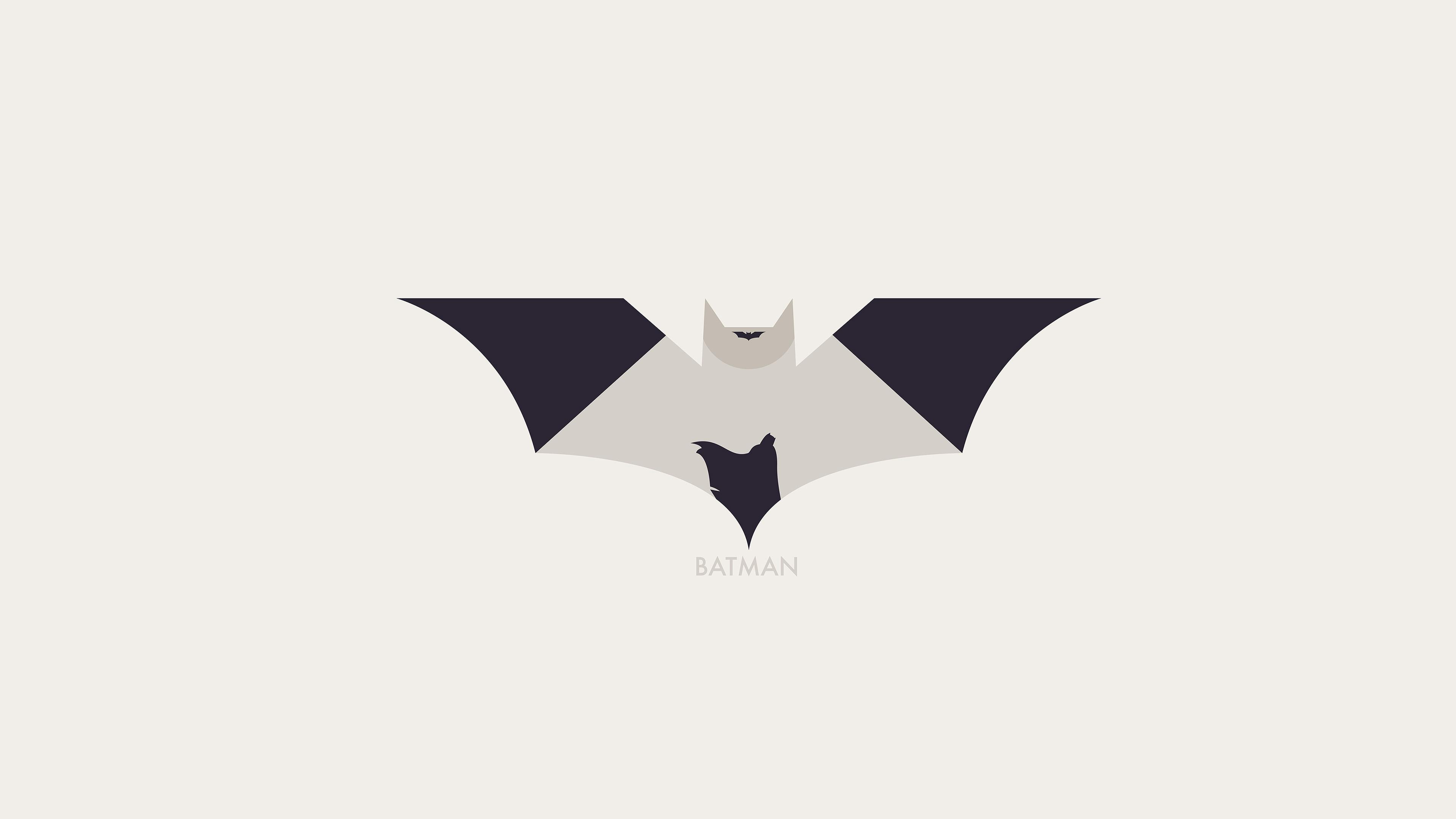 Ao27 hugoli art batman minimal logo illust for Minimal art logo