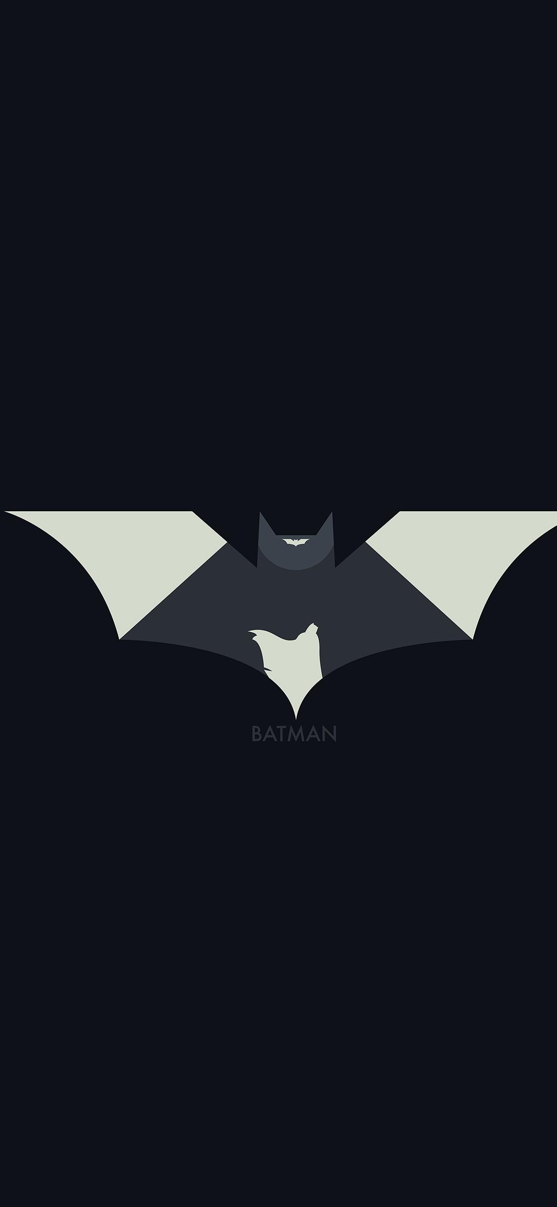 iPhoneXpapers.com-Apple-iPhone-wallpaper-ao28-hugoli-art-batman-minimal-logo-illust-dark