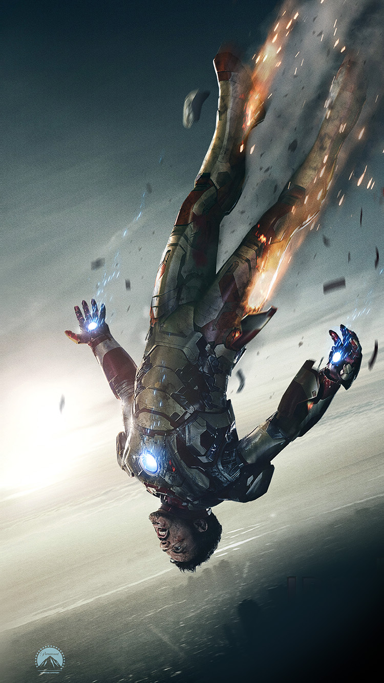 iPhone6papers.co-Apple-iPhone-6-iphone6-plus-wallpaper-ao34-ironman-3-falling-hero-art-illust